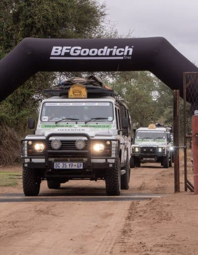 1. Start of the Defender Trophy Limpopo 2019