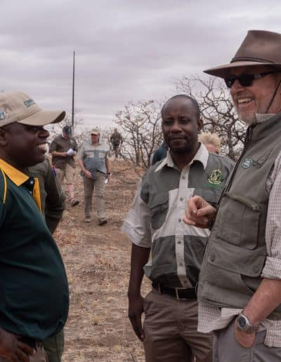47. JK & ZimParks officials